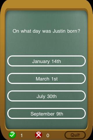 Screenshot Justin Bieber – Know It All