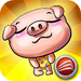 Children's logic game - Happy pig