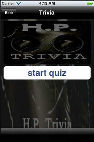 Screenshot H.P. Trivia